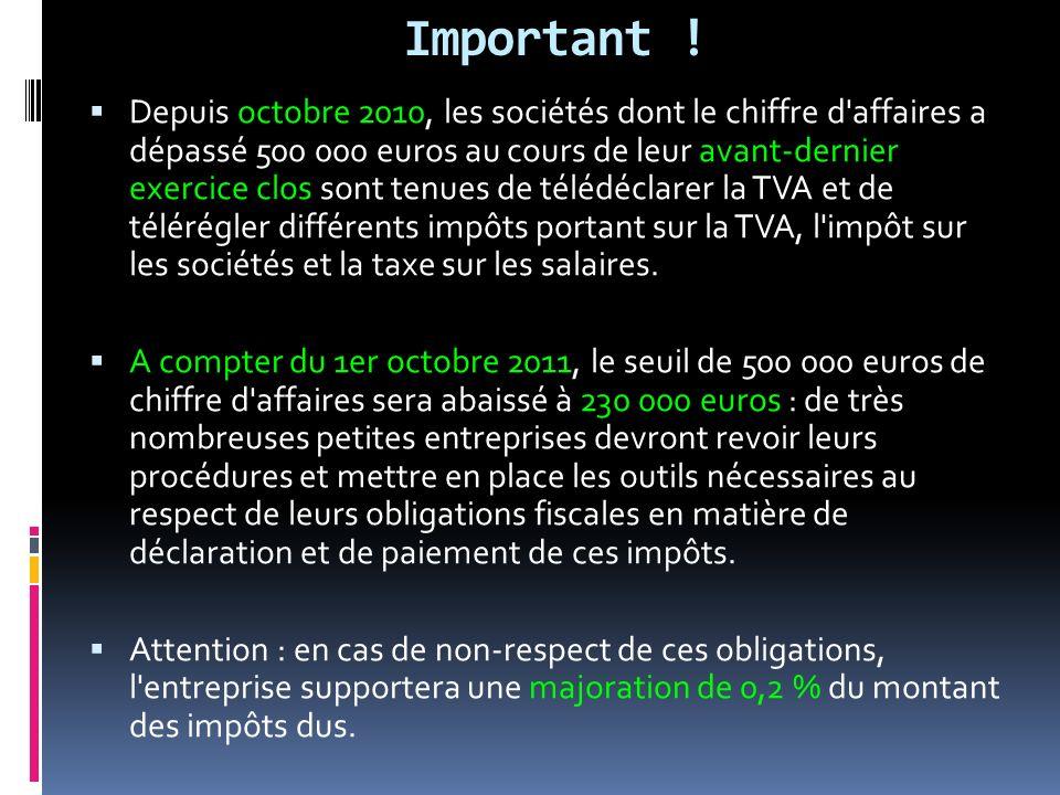 Important !