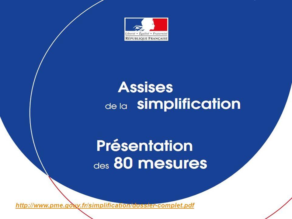 http://www.pme.gouv.fr/simplification/dossier-complet.pdf