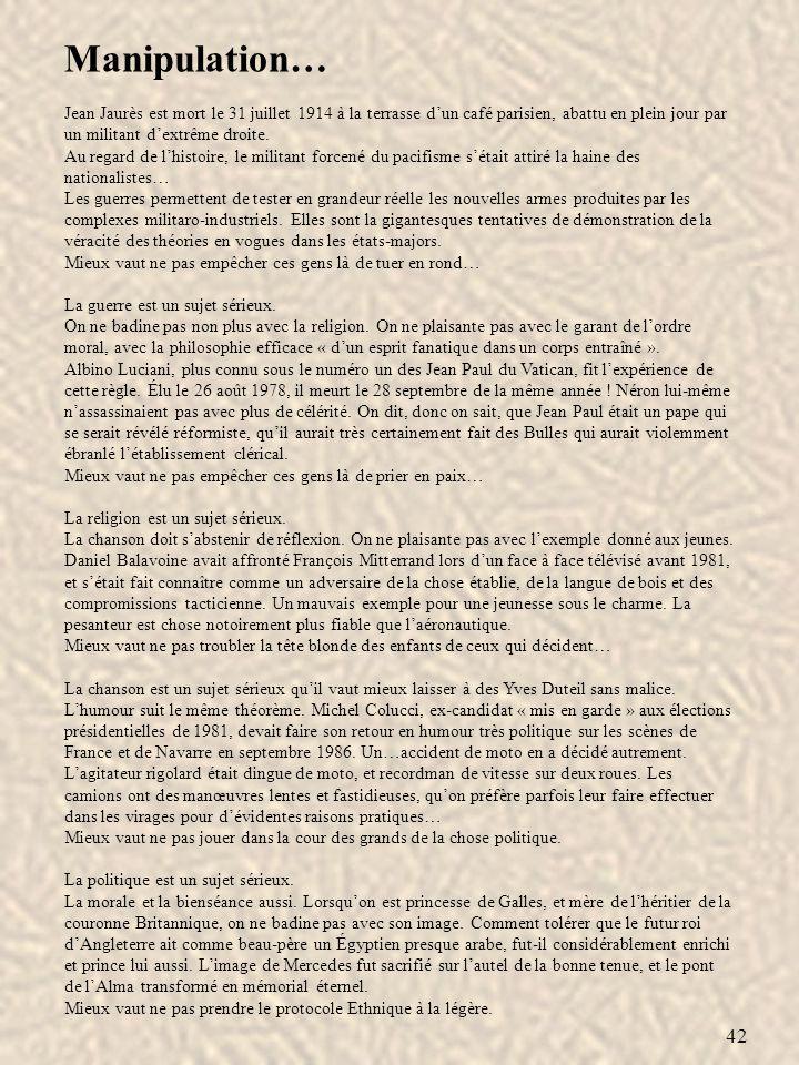 Manipulation… Jean Jaurès est mort le 31 juillet 1914 à la terrasse d'un café parisien, abattu en plein jour par un militant d'extrême droite.