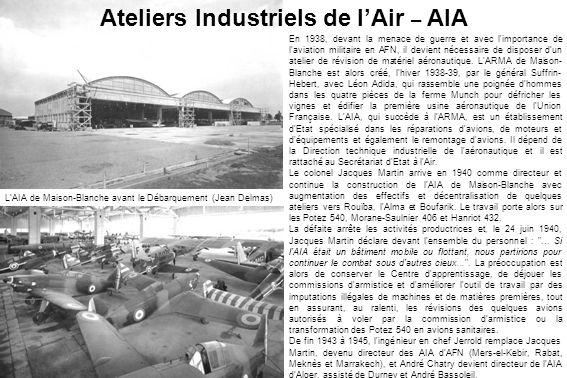 Ateliers Industriels de l'Air – AIA