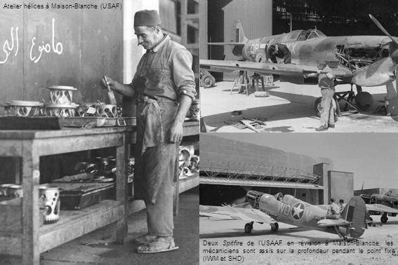 Atelier hélices à Maison-Blanche (USAF)