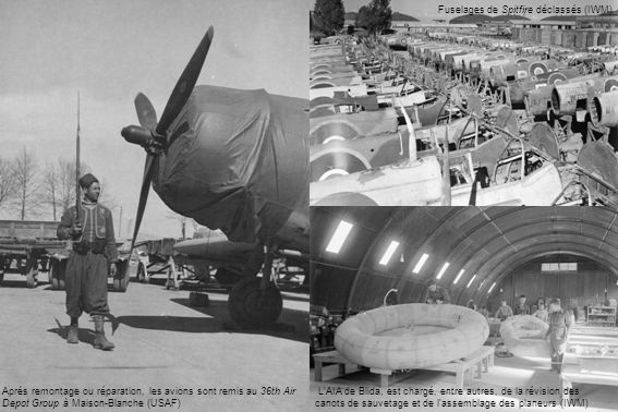 Fuselages de Spitfire déclassés (IWM)