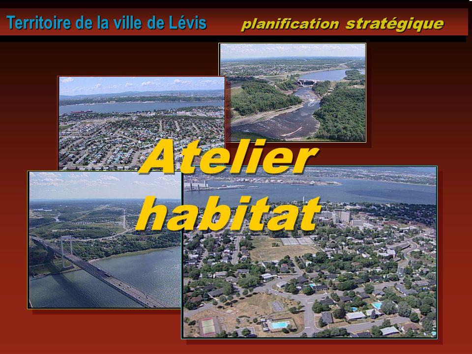 Territoire de la ville de Lévis planification stratégique