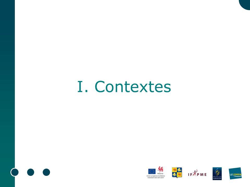 I. Contextes