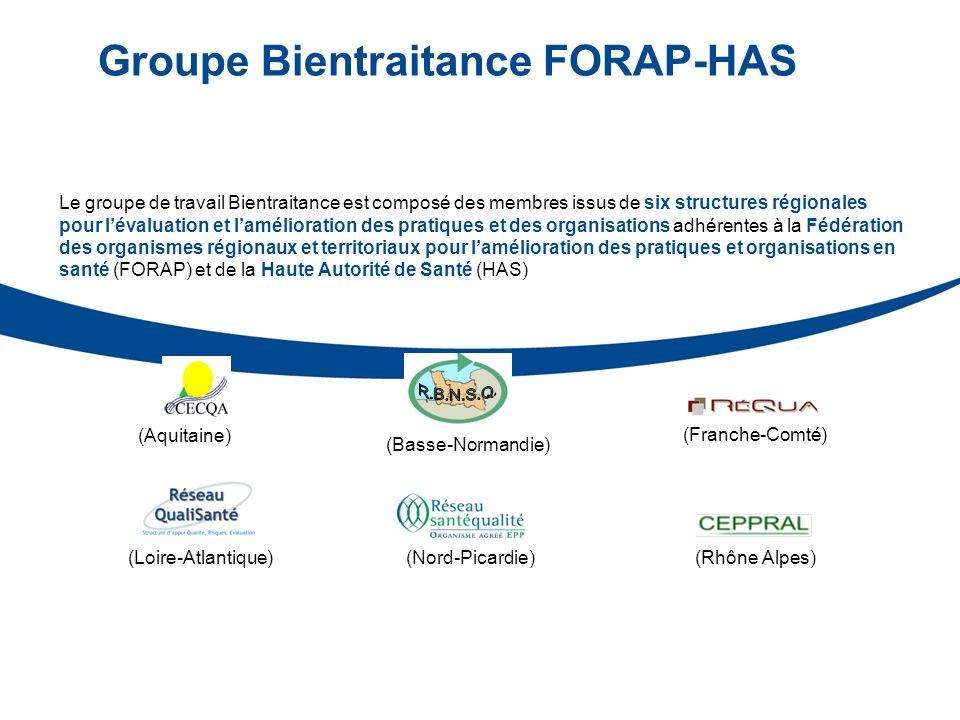 Groupe Bientraitance FORAP-HAS