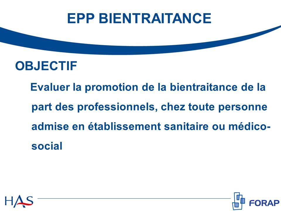 EPP BIENTRAITANCE OBJECTIF