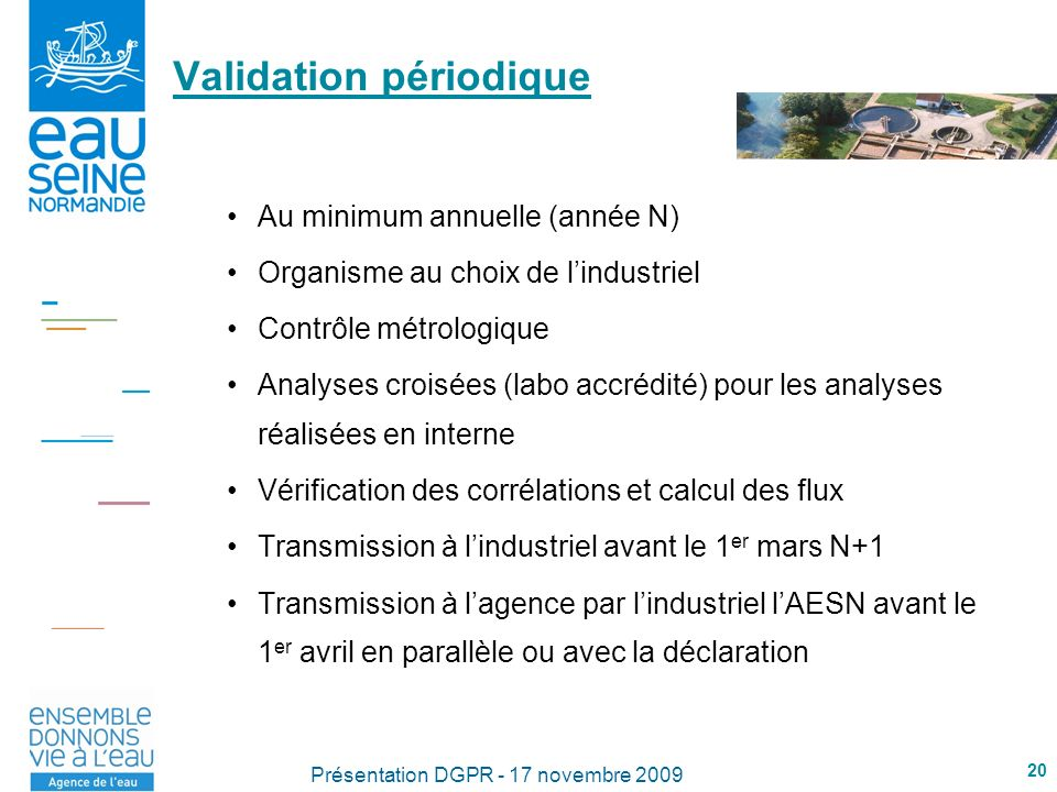 Validation périodique