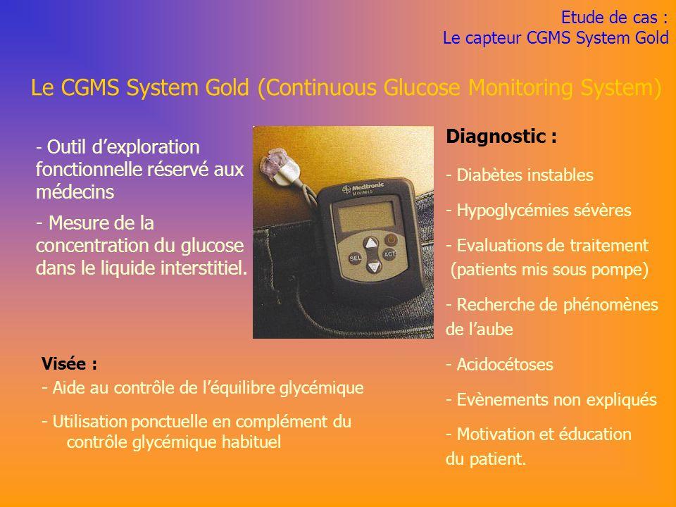 Etude de cas : Le capteur CGMS System Gold