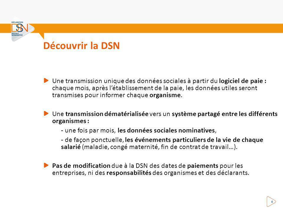 Découvrir la DSN