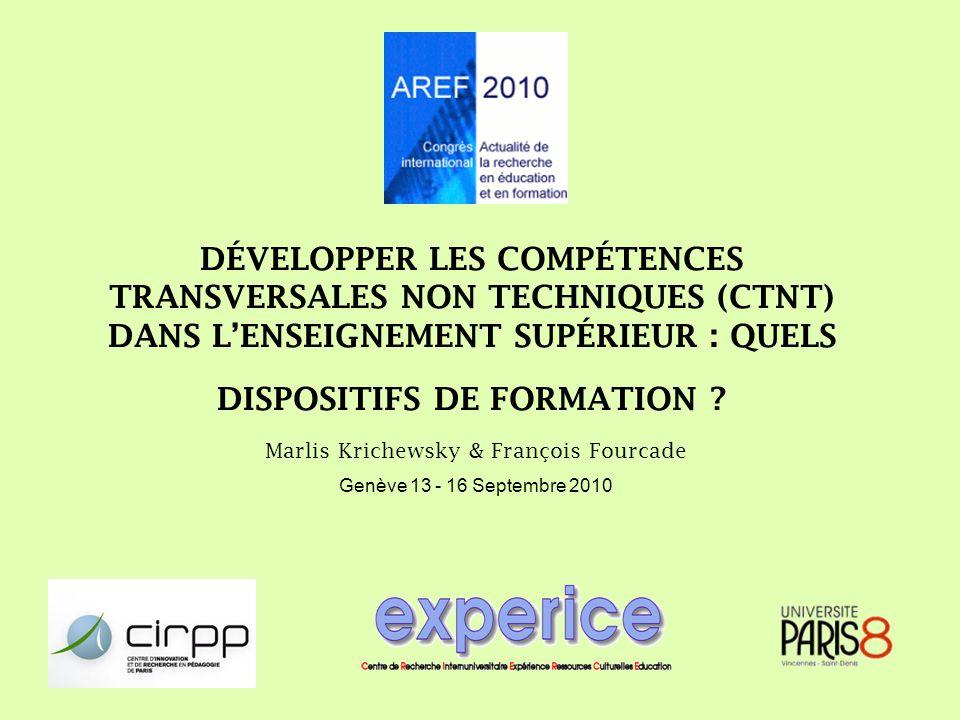 Marlis Krichewsky & François Fourcade Genève 13 - 16 Septembre 2010