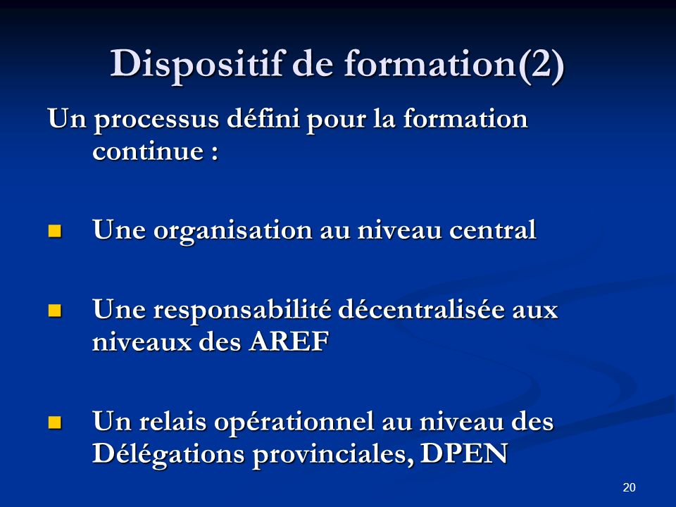 Dispositif de formation(2)
