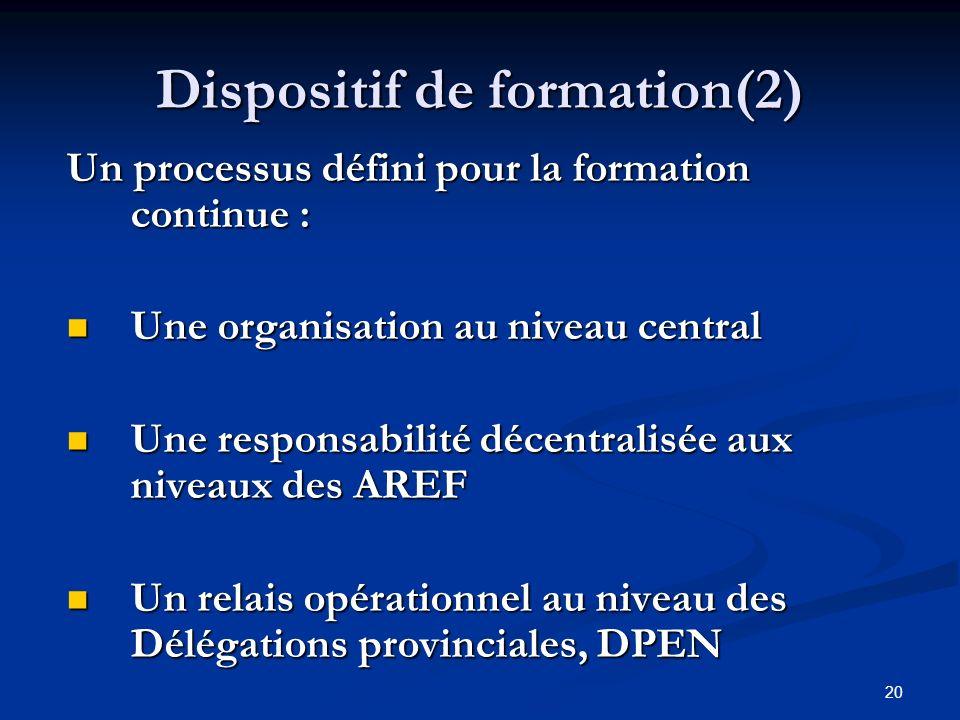Dispositif de formation(2)