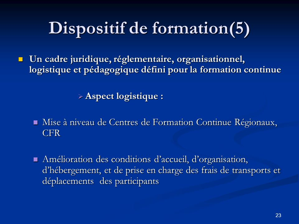 Dispositif de formation(5)