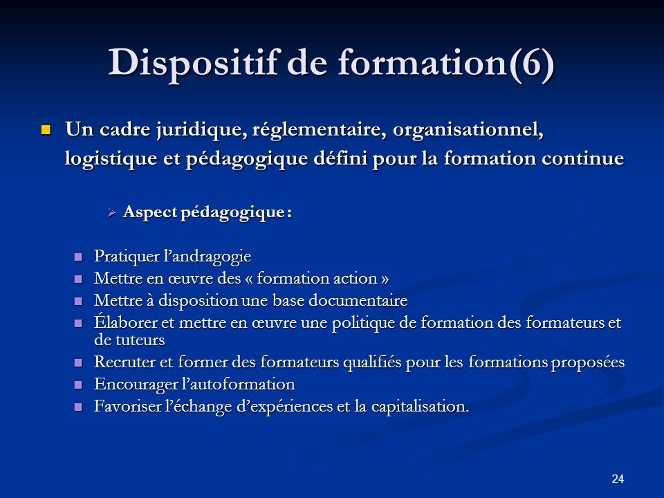 Dispositif de formation(6)