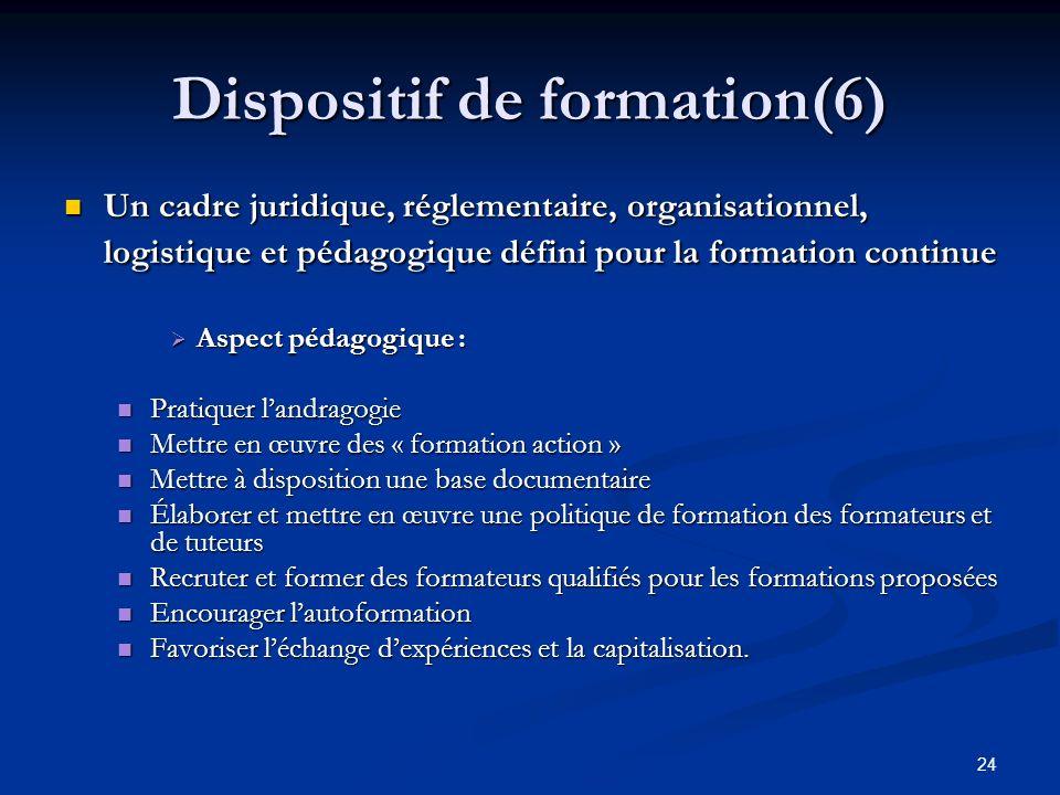 Dispositif de formation(6)