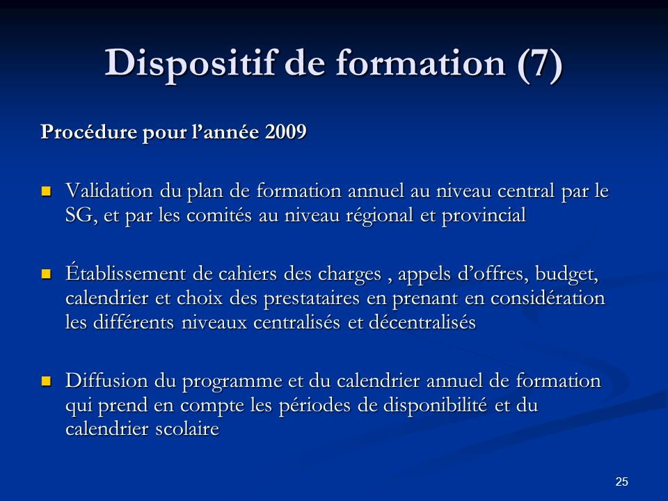 Dispositif de formation (7)