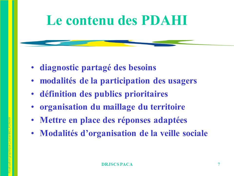 Le contenu des PDAHI diagnostic partagé des besoins
