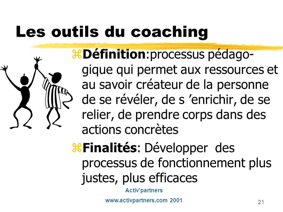 Les outils du coaching