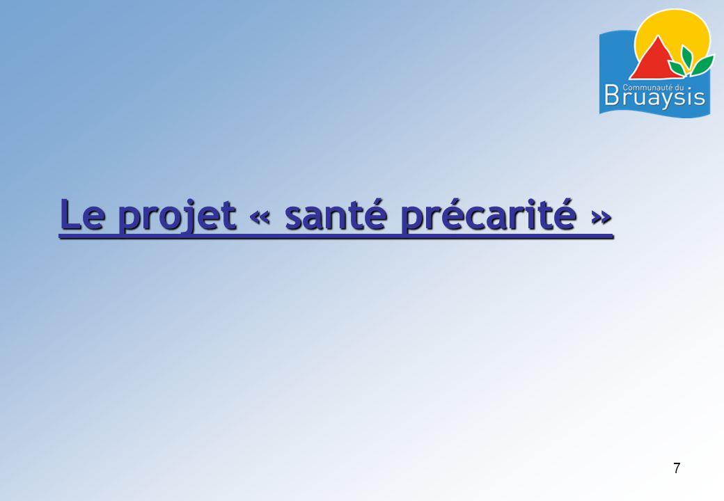 Le projet « santé précarité »