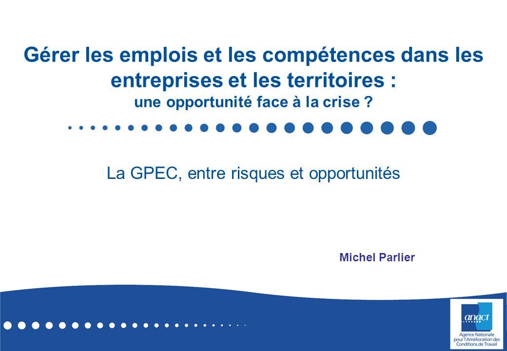 La GPEC, entre risques et opportunités