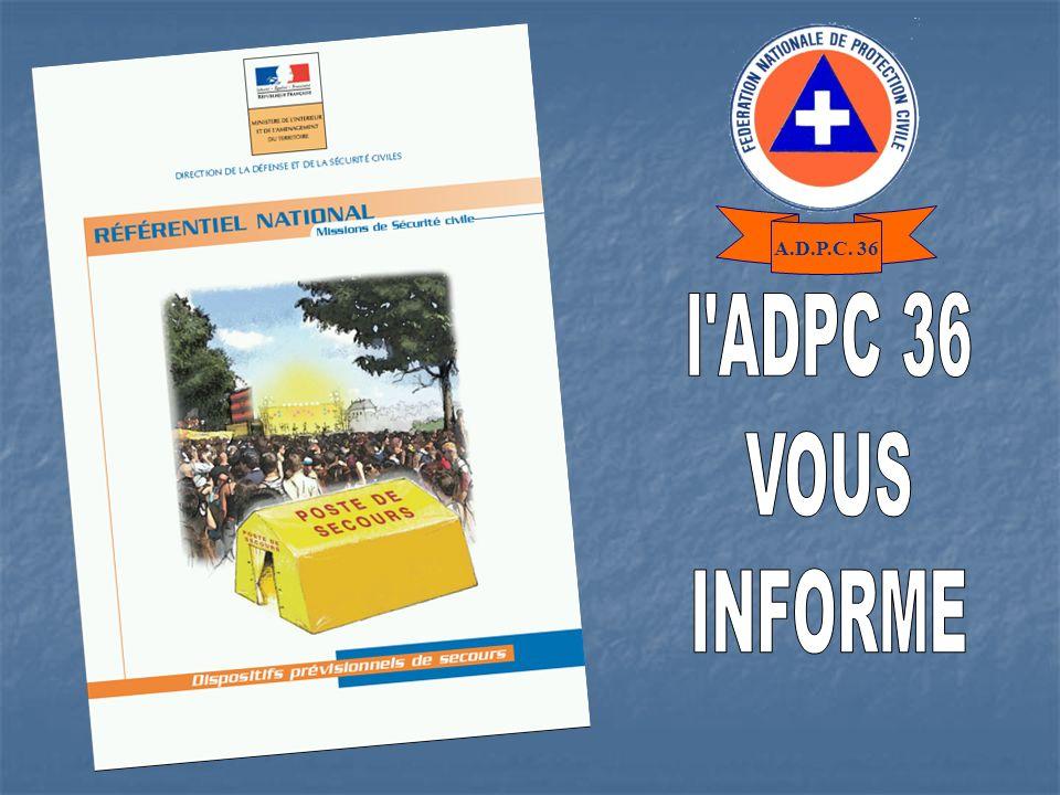 A.D.P.C. 36 l ADPC 36 VOUS INFORME