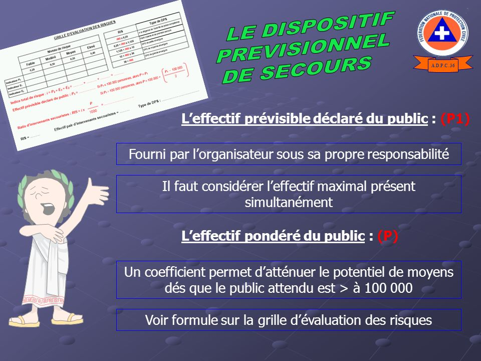 LE DISPOSITIF PREVISIONNEL DE SECOURS