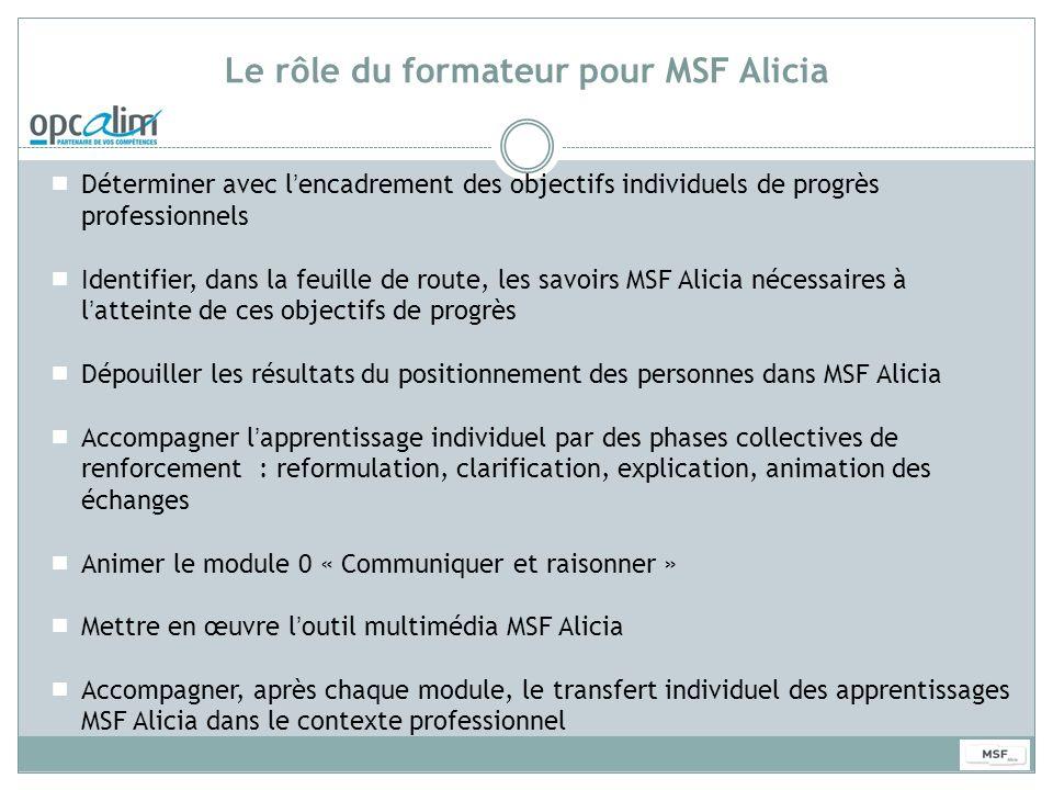 Le rôle du formateur pour MSF Alicia