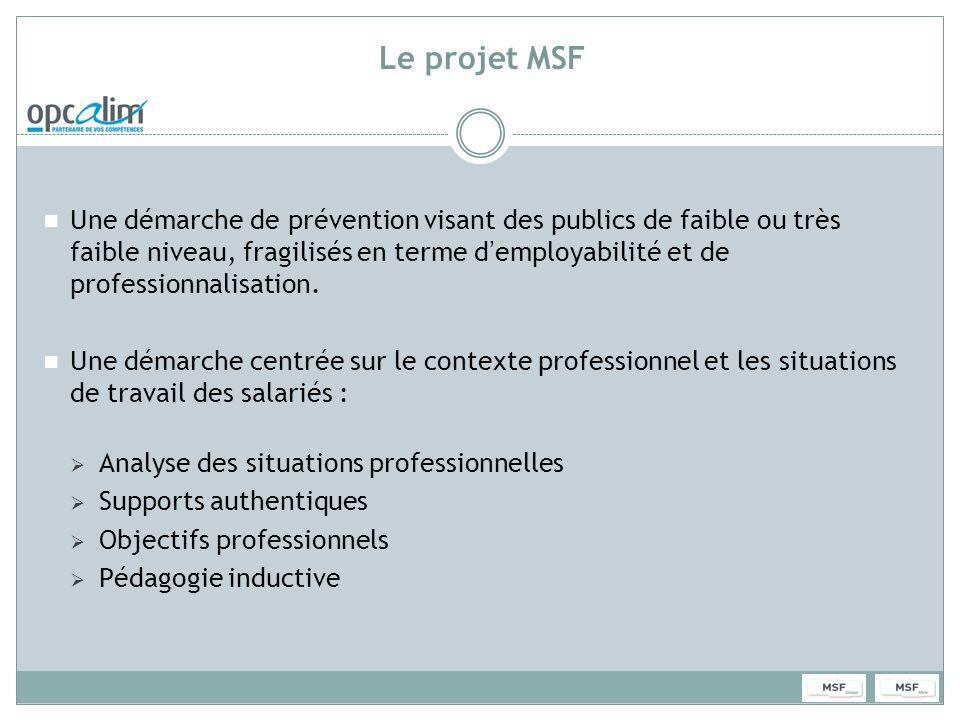 Le projet MSF