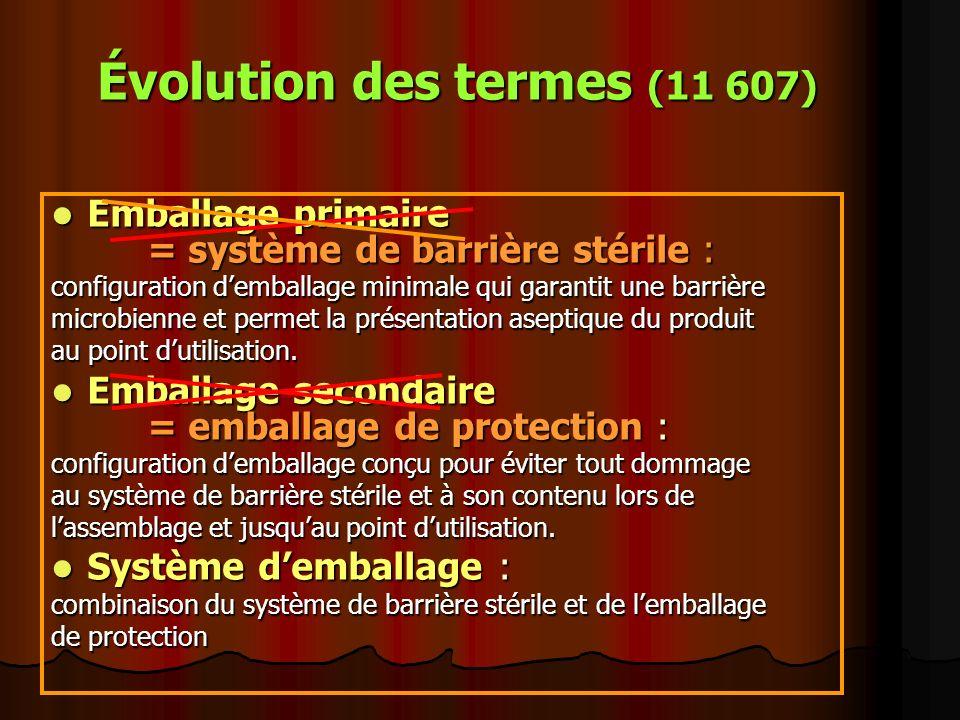 Évolution des termes (11 607)
