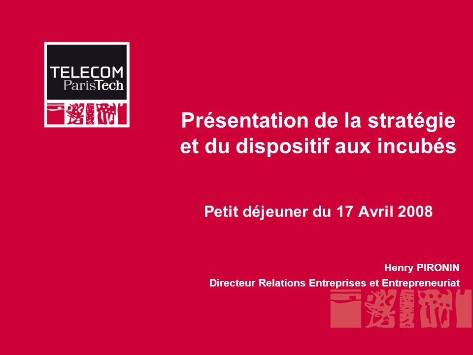 TELECOM ParisTech Entrepreneurs