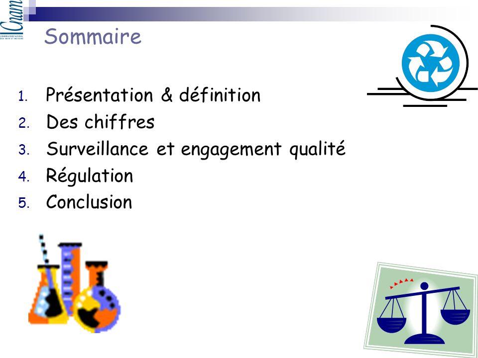 Sommaire Présentation & définition Des chiffres