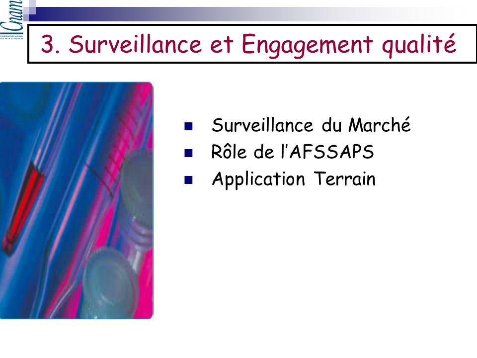 3. Surveillance et Engagement qualité