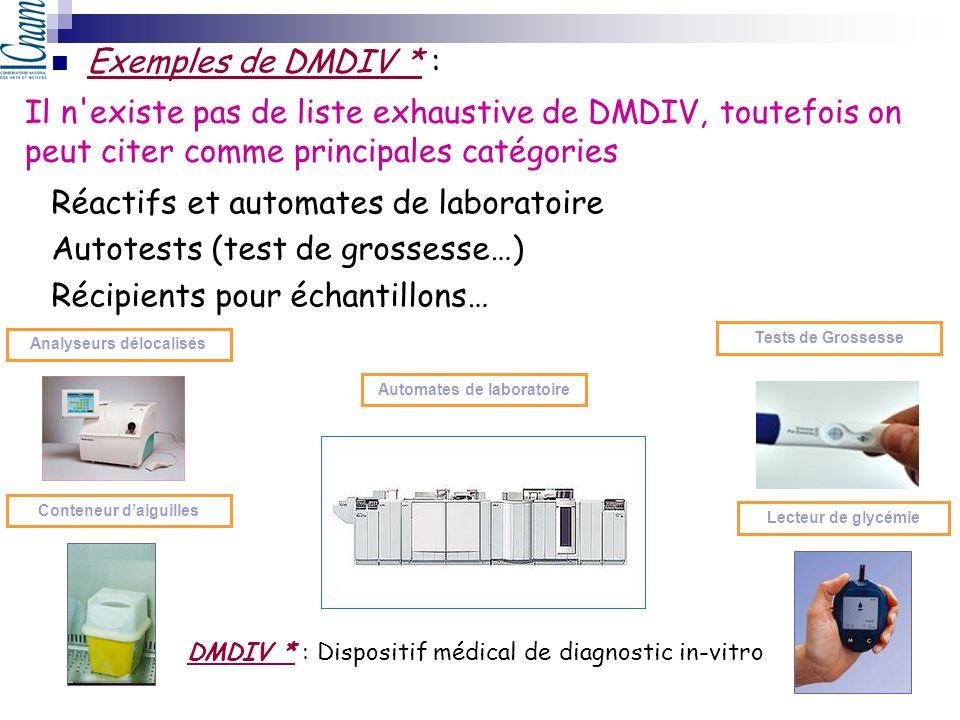 Analyseurs délocalisés Automates de laboratoire Conteneur d'aiguilles