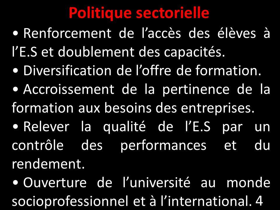 Politique sectorielle