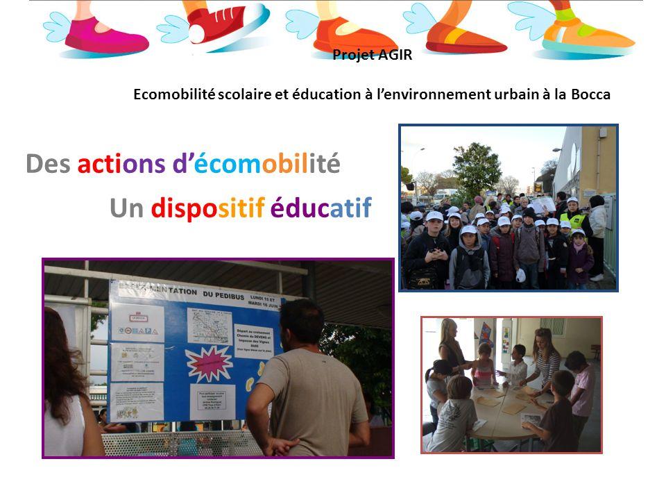 Des actions d'éducation à l'environnement