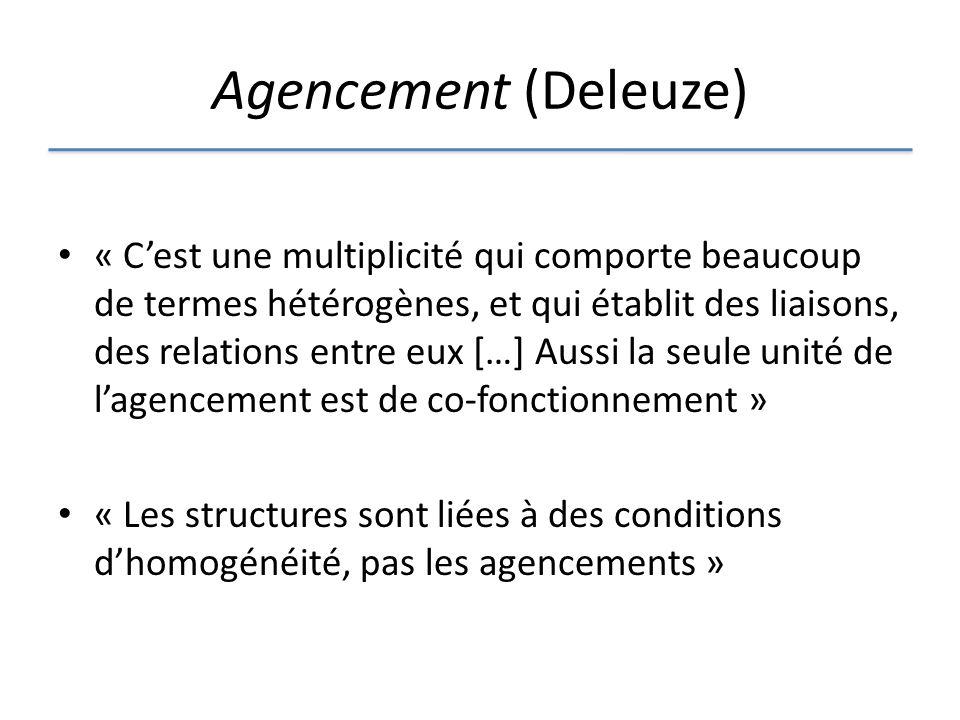 Agencement (Deleuze)