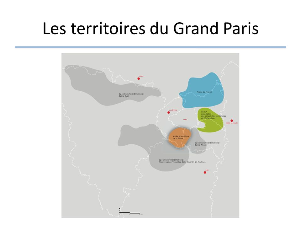 Les territoires du Grand Paris
