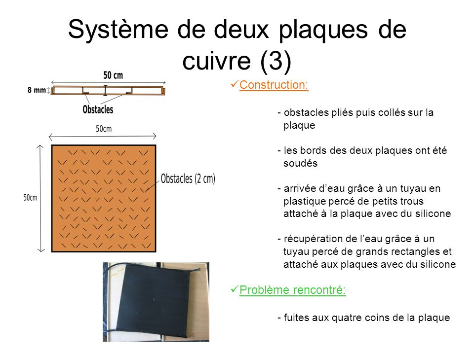 Système de deux plaques de cuivre (3)