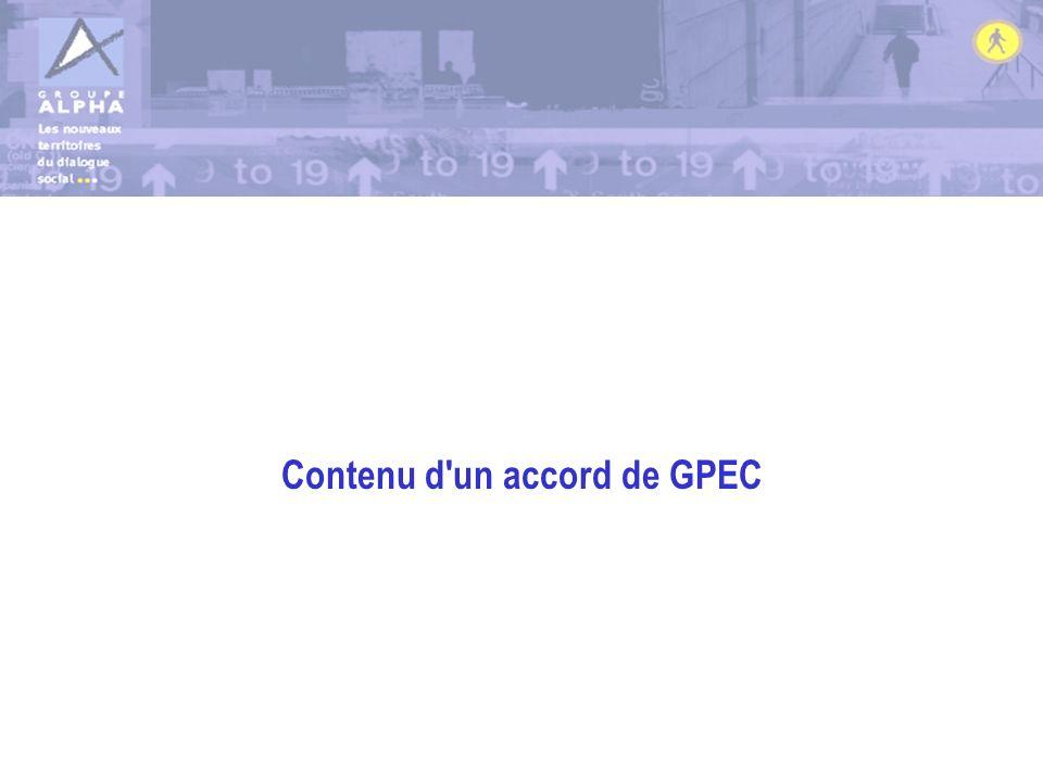 Contenu d un accord de GPEC