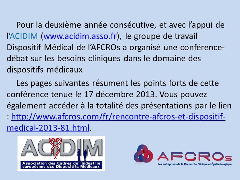 Pour la deuxième année consécutive, et avec l'appui de l'ACIDIM (www