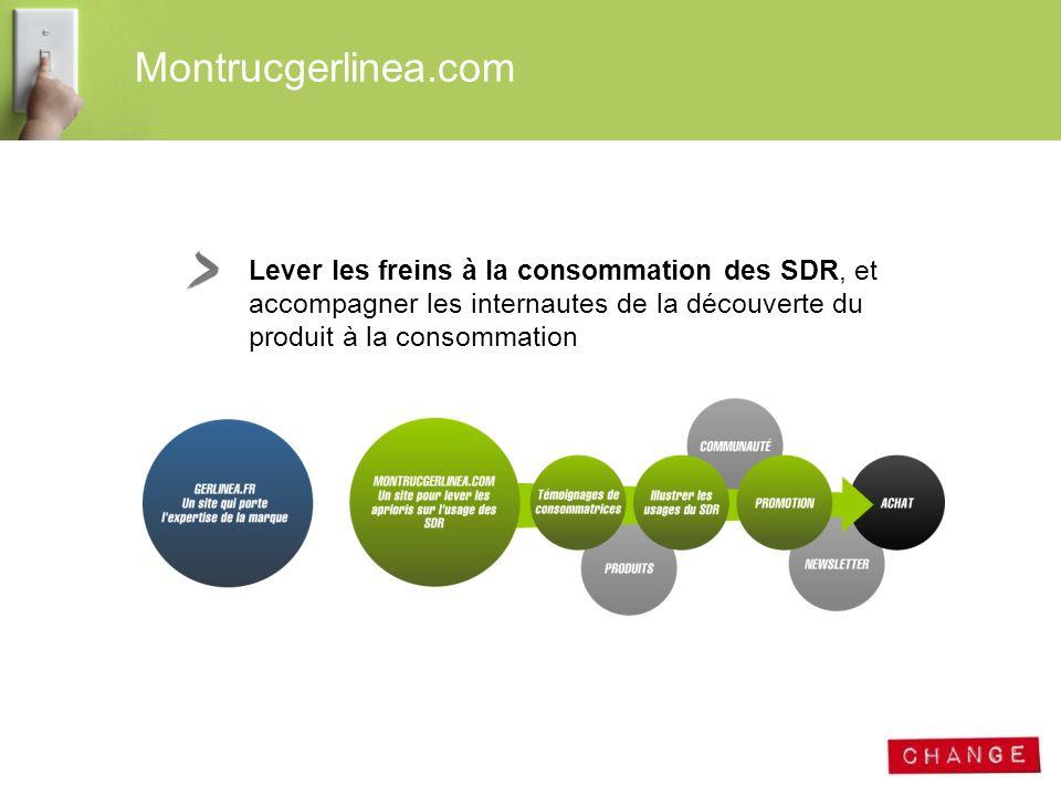 Montrucgerlinea.com Lever les freins à la consommation des SDR, et accompagner les internautes de la découverte du produit à la consommation.