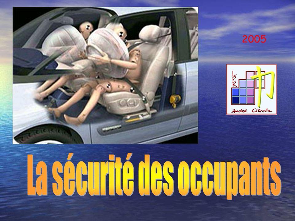 La sécurité des occupants