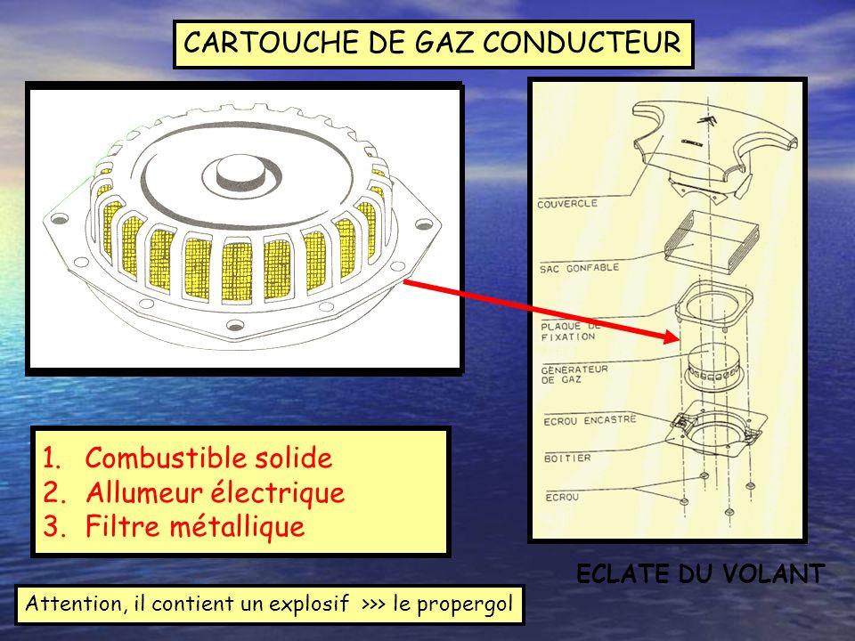 CARTOUCHE DE GAZ CONDUCTEUR