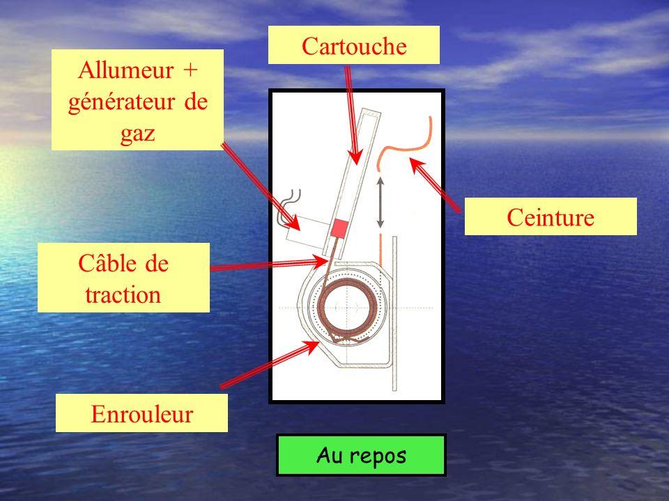 Allumeur + générateur de gaz