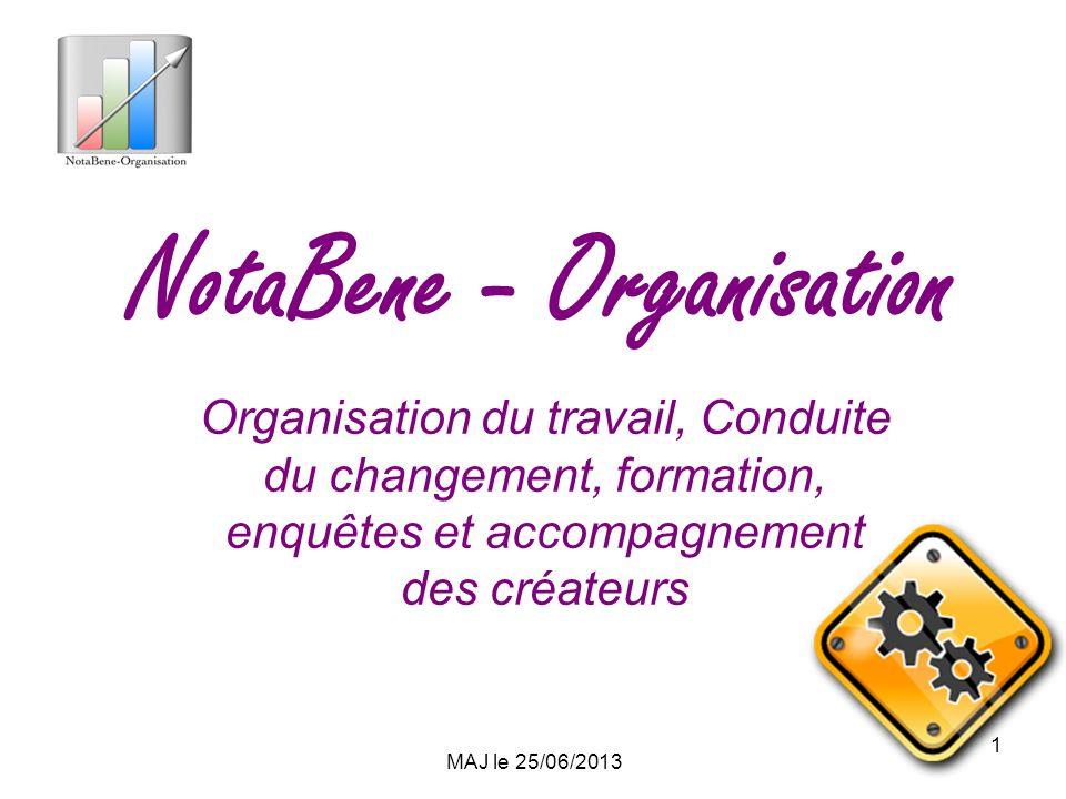 NotaBene - Organisation