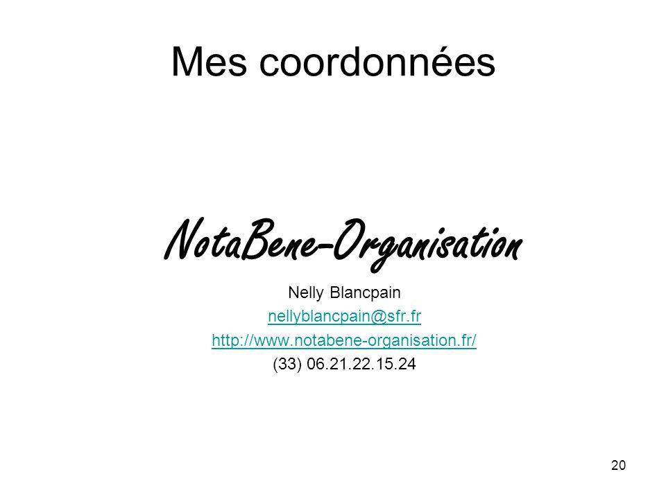 NotaBene-Organisation