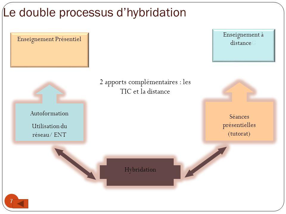 Le double processus d'hybridation