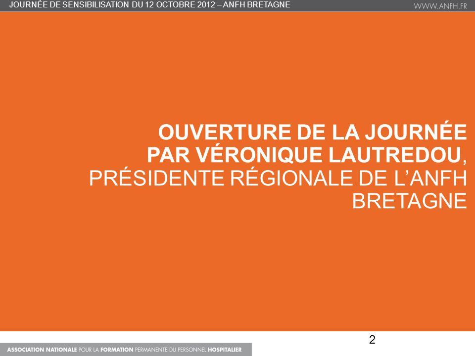 Journée de sensibilisation du 12 OCTOBRE 2012 – ANFH bretagne