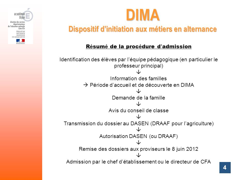 Dispositif d'initiation aux métiers en alternance