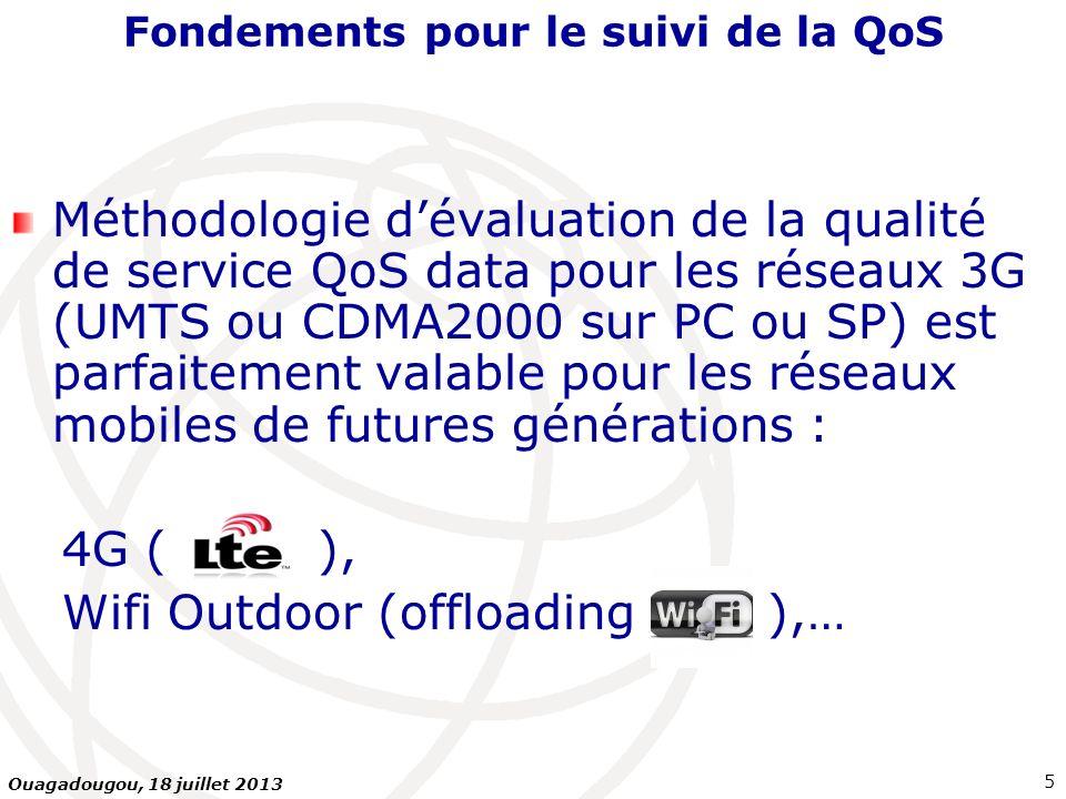 Fondements pour le suivi de la QoS